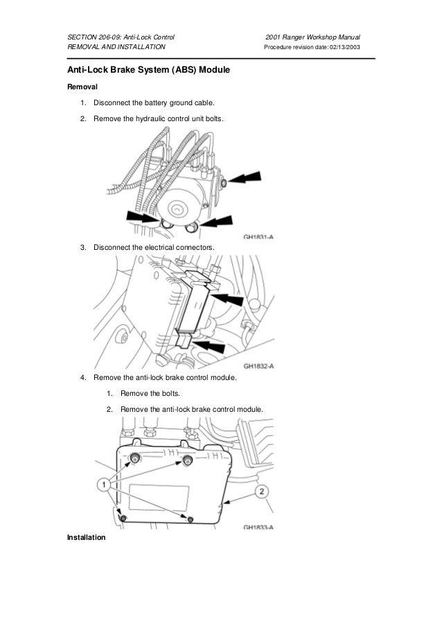 manual de taller ranger  ford  a partir del 2001