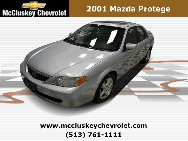 2001 Mazda Protegewww.mccluskeychevrolet.com     (513) 761-1111