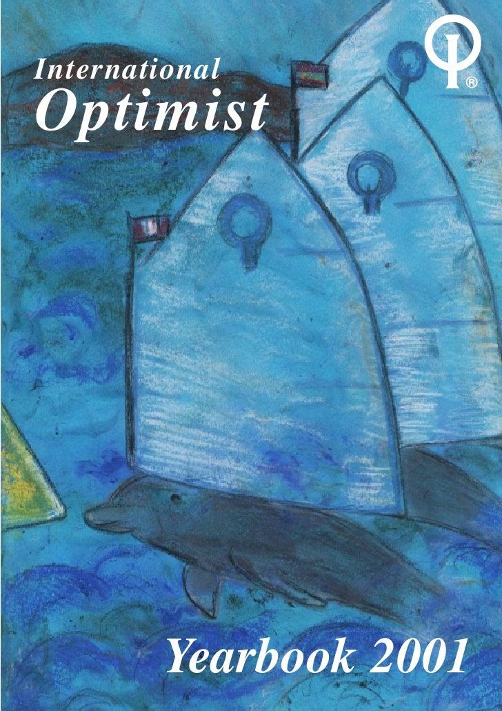 International        ®Optimist         Yearbook 2001
