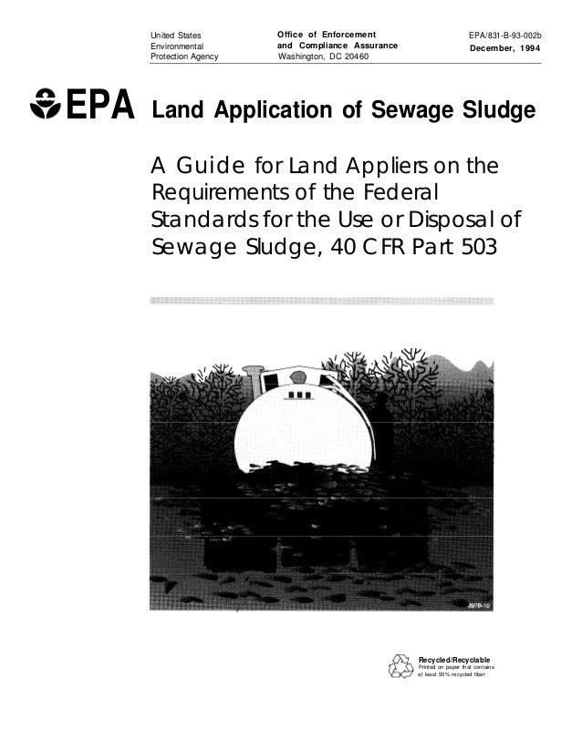 United States Environmental Protection Agency  EPA  Office of Enforcement and Compliance Assurance Washington, DC 20460  E...