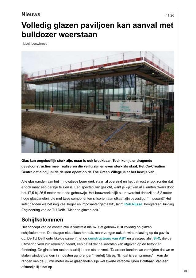 200207 Cobouw-artikel over het glazen Co-Creation Centre