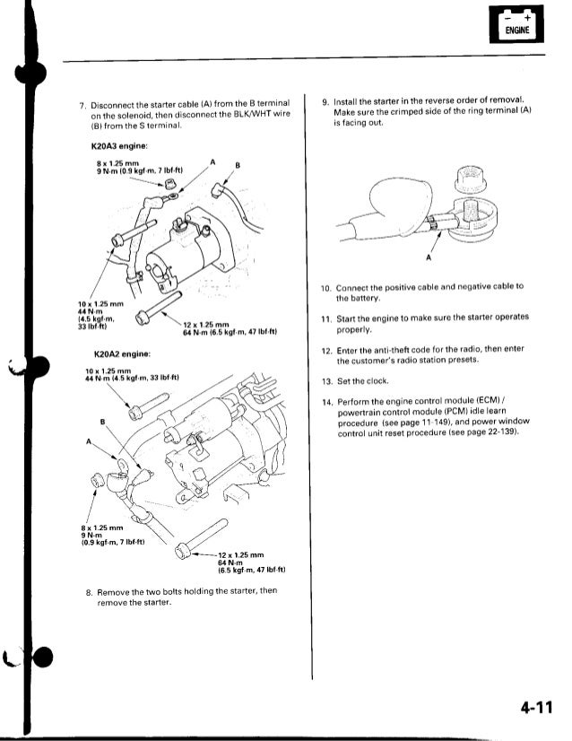 2002 acura rsx service repair manual on