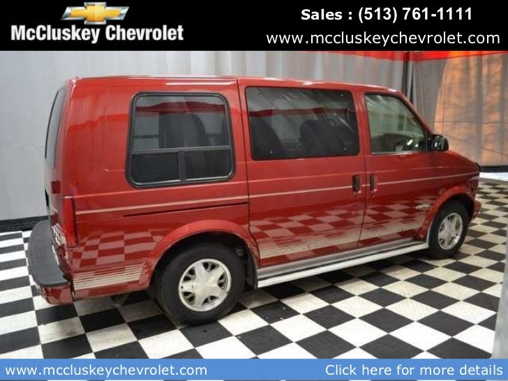 Used Passenger Vans For Sale >> Used 2002 Chevrolet Astro 7 Passenger Van At Your Chevy