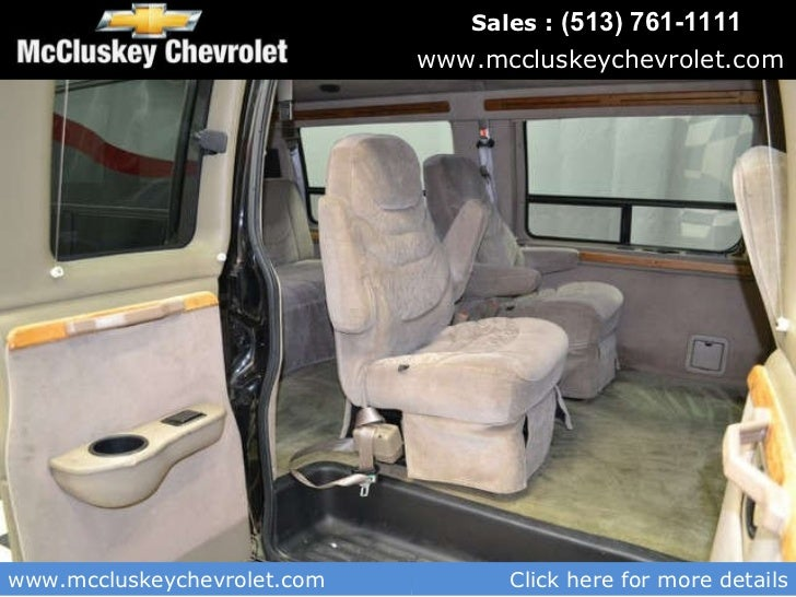 Used 2002 Chevrolet Express Conversion Van