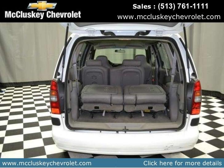 Used 2002 Chevrolet Venture Value 1sv Pkg Van At Your
