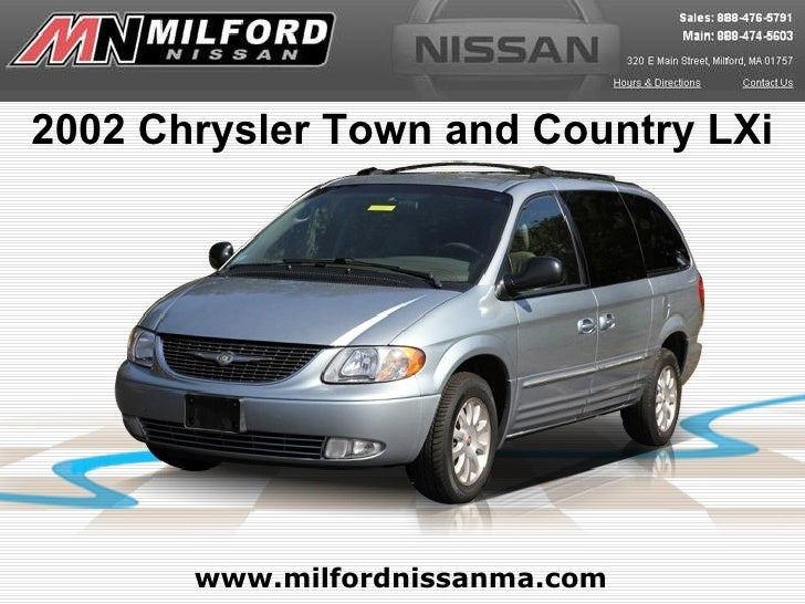 used 2002 chrysler town and country lxi worcester ma. Black Bedroom Furniture Sets. Home Design Ideas