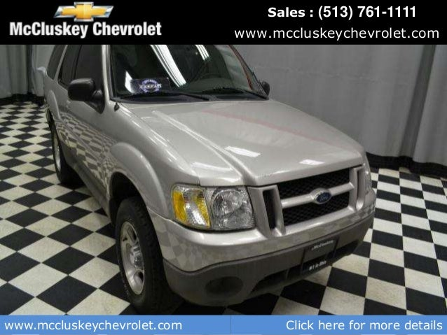 used 2002 ford explorer sport auto used cars for sale in cincinnati. Black Bedroom Furniture Sets. Home Design Ideas