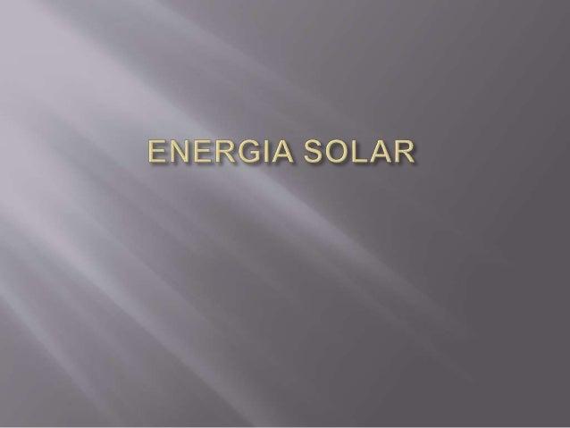 Energia solar é aquela proveniente do Sol, podendo ser energia térmica e luminosa. Esta energia pode ser captada por painé...