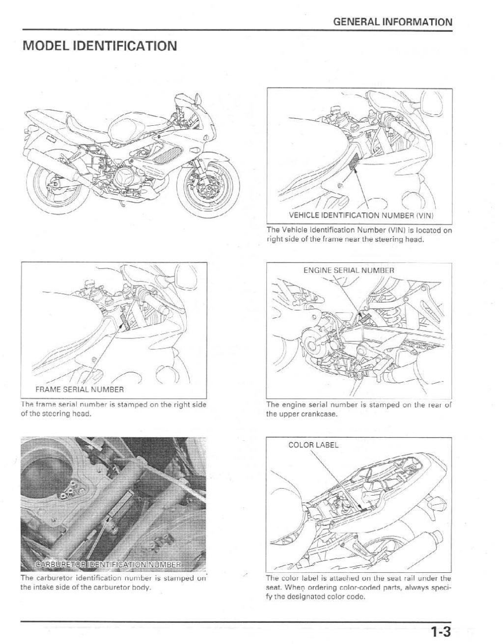 2002 honda vtr1000 f2 superhawk service repair manual
