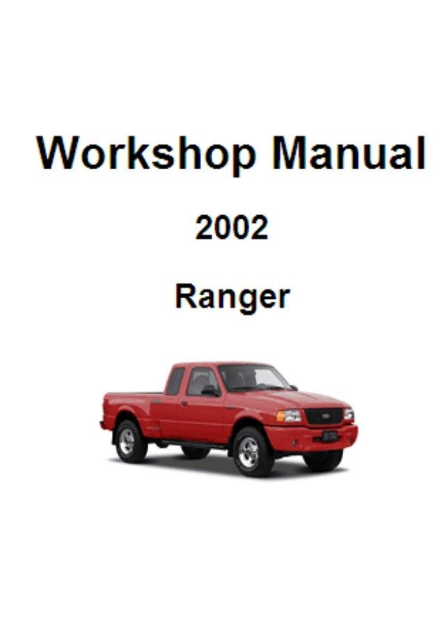 manual de taller ranger ford rh slideshare net 2000 ford courier workshop manual free download Ford Courier 4x4