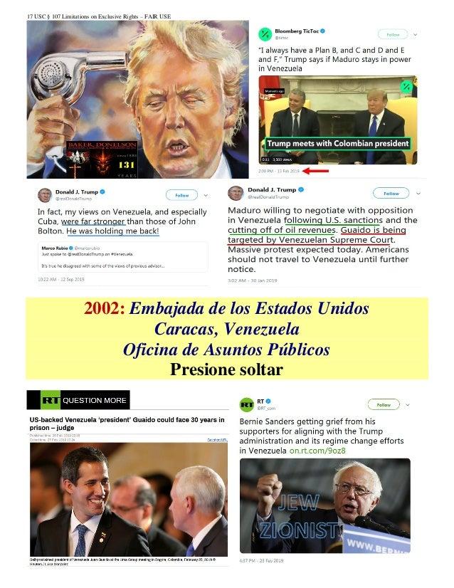 17 USC § 107 Limitations on Exclusive Rights – FAIR USE 2002: Embajada de los Estados Unidos Caracas, Venezuela Oficina de...