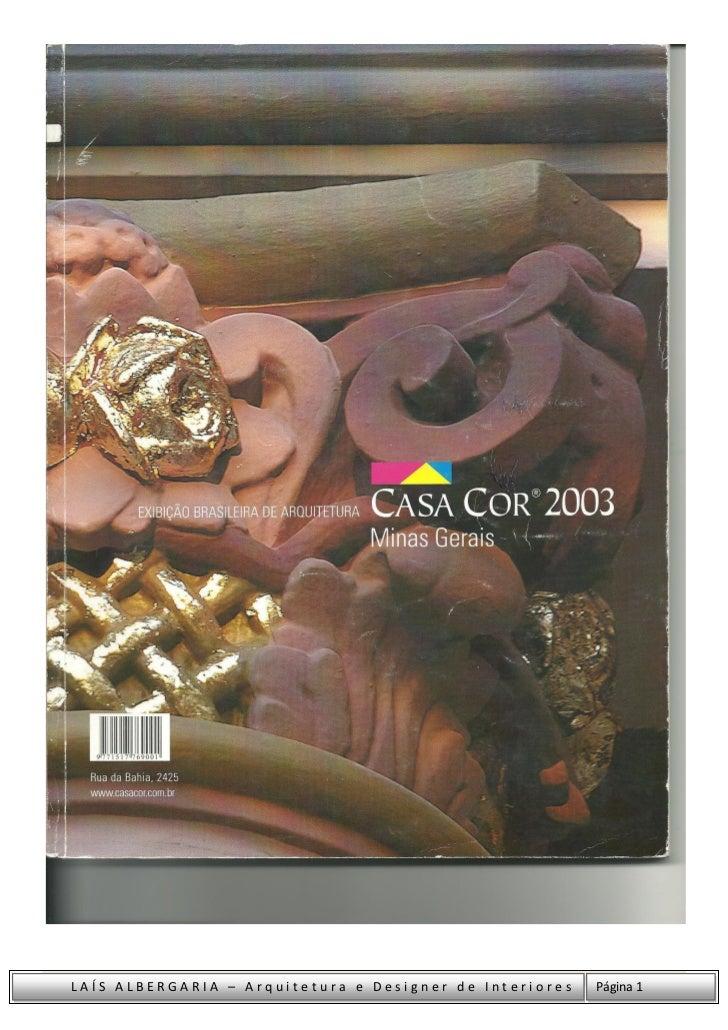 LAÍS ALBERGARIA – Arquitetura e Designer de Interiores   Página 1