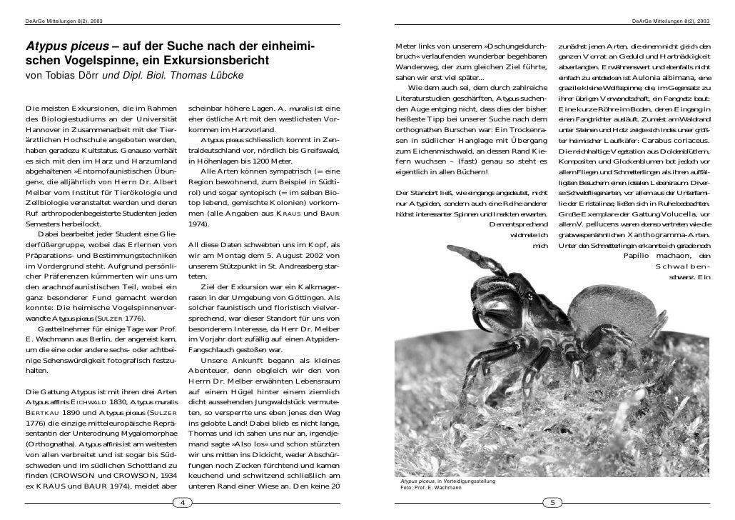 DeArGe Mitteilungen 8(2), 2003                                                                                            ...
