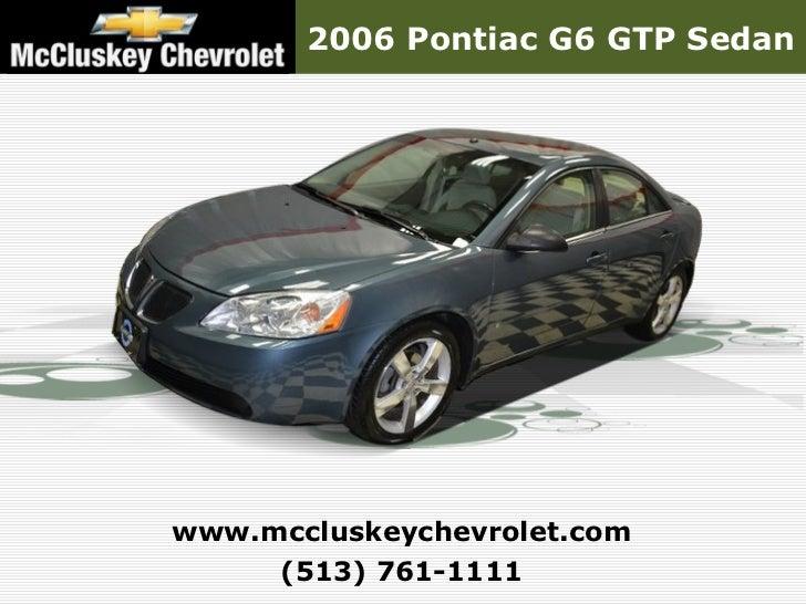 used 2006 pontiac g6 gtp sedan kings automall cincinnati ohio. Black Bedroom Furniture Sets. Home Design Ideas