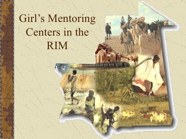 Girl's Mentoring Centers in the RIM