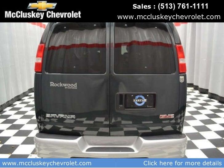 Mccluskey Chevrolet Kings Auto Mall >> Used 2003 GMC Savana 1500 7 Passenger Rockwood Conversion By Centurio…