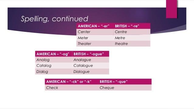 Catalogue british american