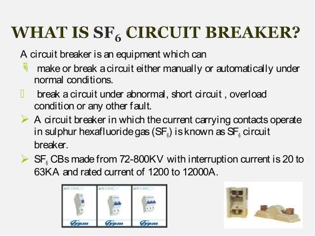 sf6 circuit breakerWorking Of Sf6 Circuit Breaker #12