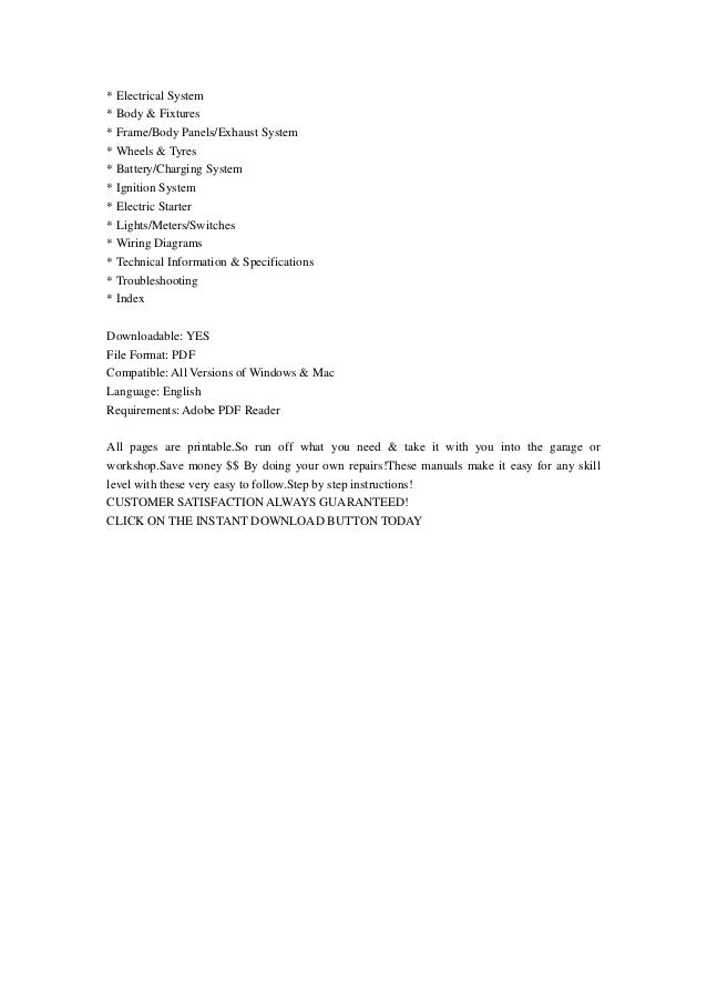 suzuki burgman an650 2003 service repair manual
