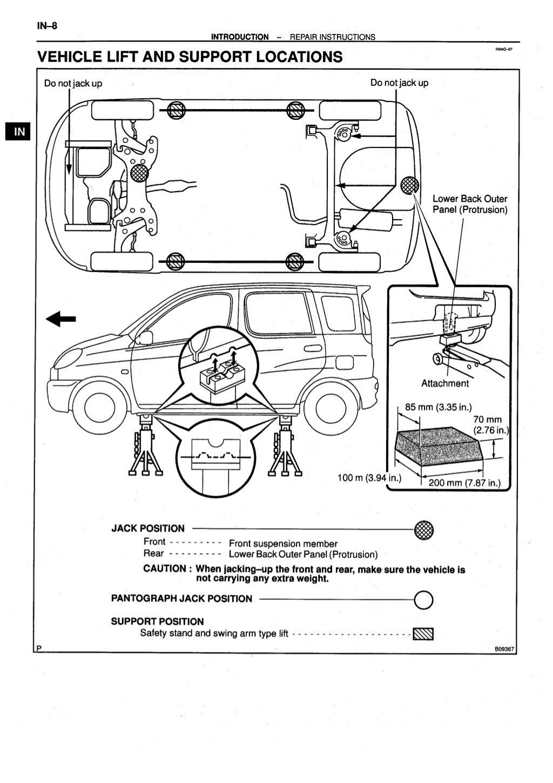 2003 toyota yaris echo verso service repair manual