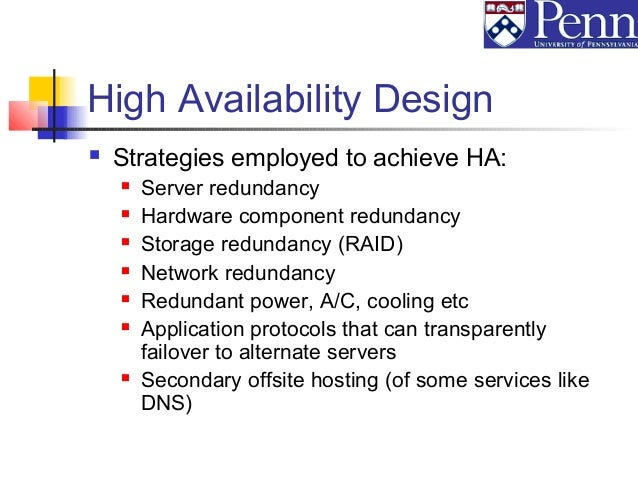 ... Recovery Services; 15. High Availability Design ... Part 96