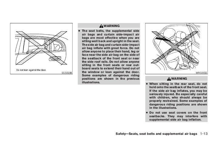 2004 ALTIMA OWNER'S MANUAL