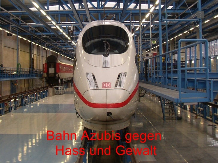 Bahn Azubis gegen  Hass und Gewalt