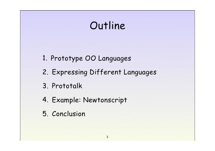 2004 Esug Prototalk Slide 2