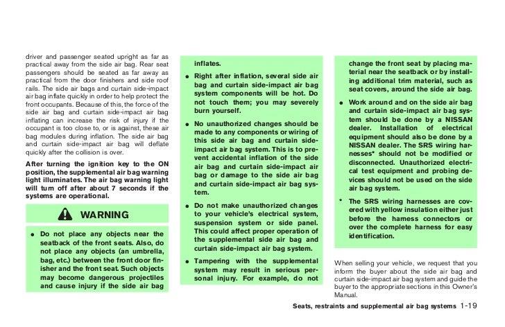 2004 pathfinder owner s manual rh slideshare net 2014 nissan pathfinder owners manual for sale 2004 nissan pathfinder armada owner's manual