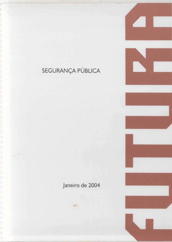 2004  pesquisa futura - segurança publica