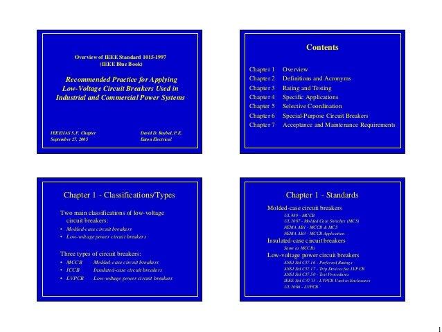 Ieee Blue Book