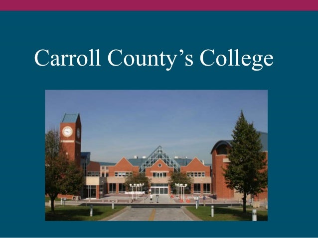November 19, 2004: The Campaign for Carroll Community College