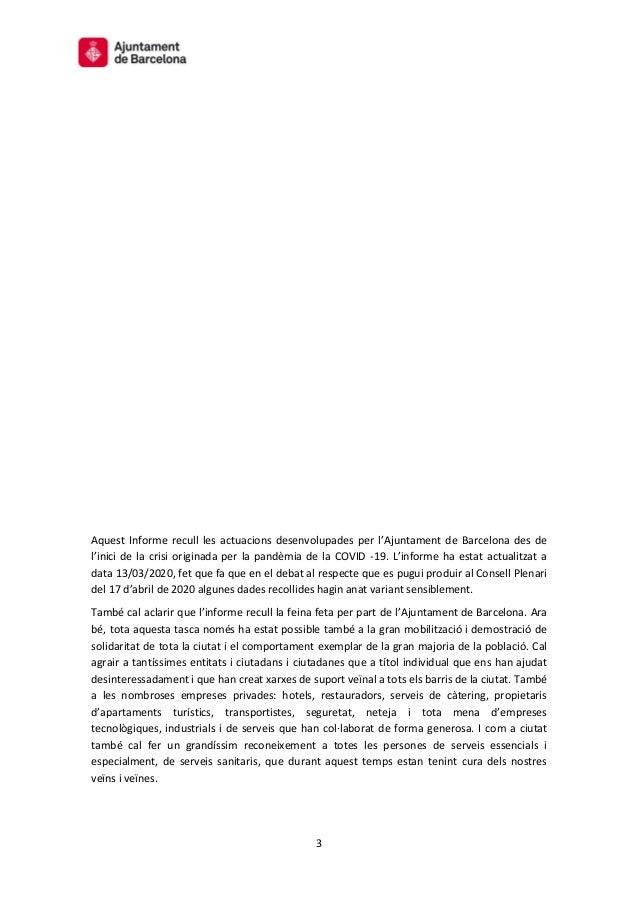 Informe Covid-19 a Barcelona Slide 3