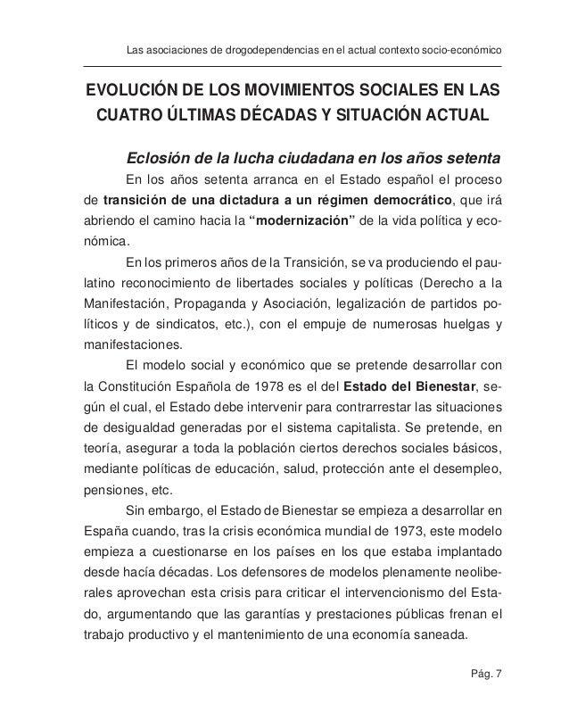Pág. 9 Las asociaciones de drogodependencias en el actual contexto socio-económico Aunque no todas las formas de participa...