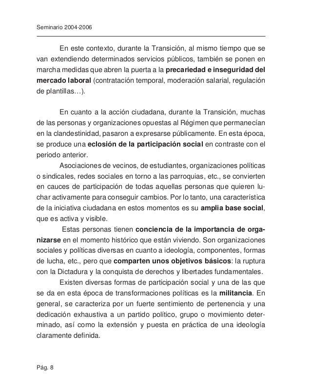 """Pág. 10 Seminario 2004-2006 En definitiva, en esta """"carrera"""" hacia la convergencia con Europa se van quedando atrás amplios..."""