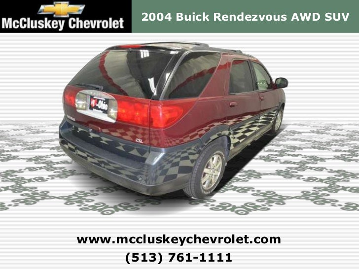 Mccluskey Chevrolet Kings Auto Mall >> Used 2004 Buick Rendezvous AWD SUV - Kings Automall Cincinnati, Ohio