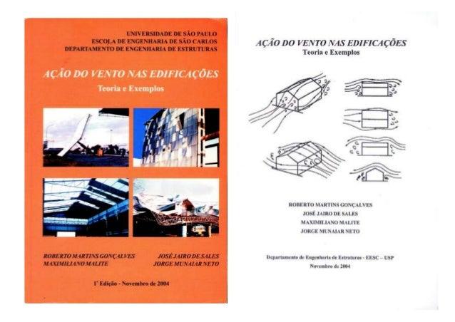 2004, gonçalves, roberto   ação do vento em edificações, teoria e exemplos