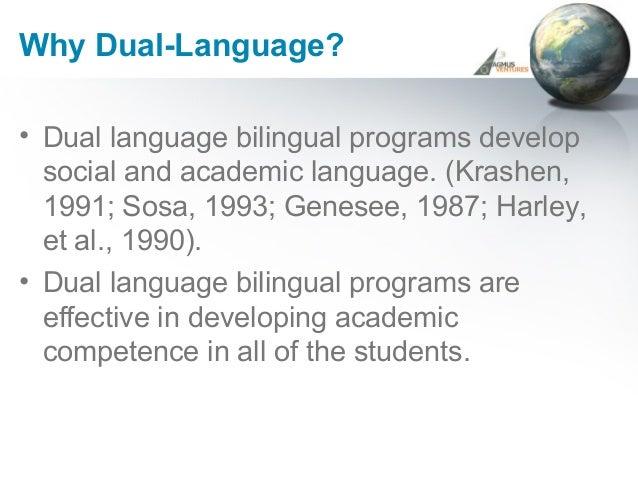 2004 Speak English? ¿Habla Español? A Bilingual Model in ...