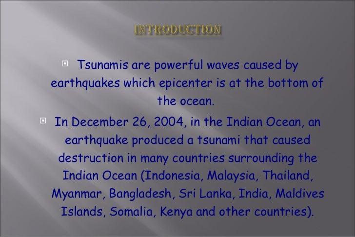 2004 tsunami introduction