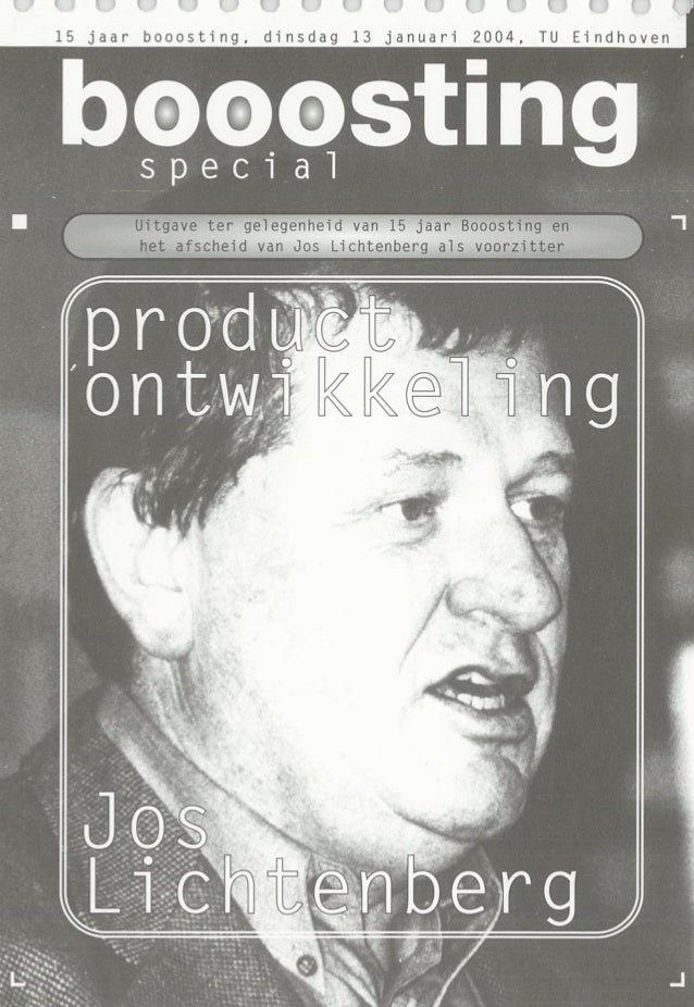 2004 Booosting-Special Produktontwikkeling