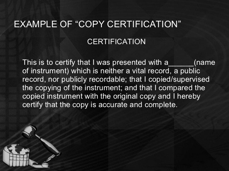copy certification by notary form - People.davidjoel.co
