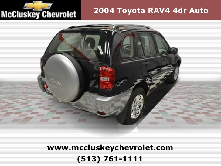 Used 2004 Toyota Rav4 4dr Auto Kings Automall Cincinnati