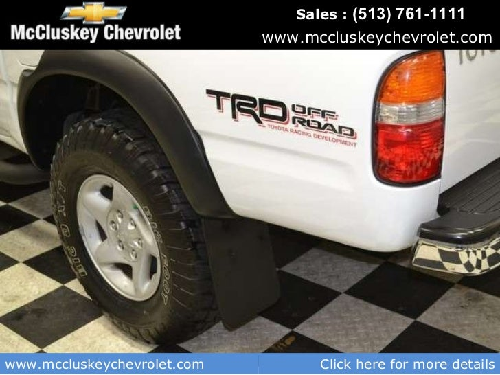 Perfect Used 2004 Toyota Tacoma Prerunner Pickup Truck   Kings Automall Cincinnati,  Ohio