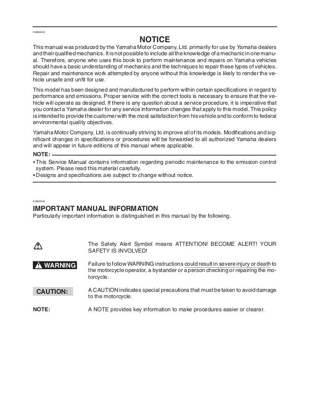 2003 2004 yamaha r6 master service manual