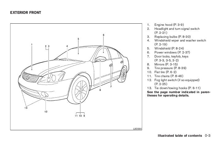altima owners manual