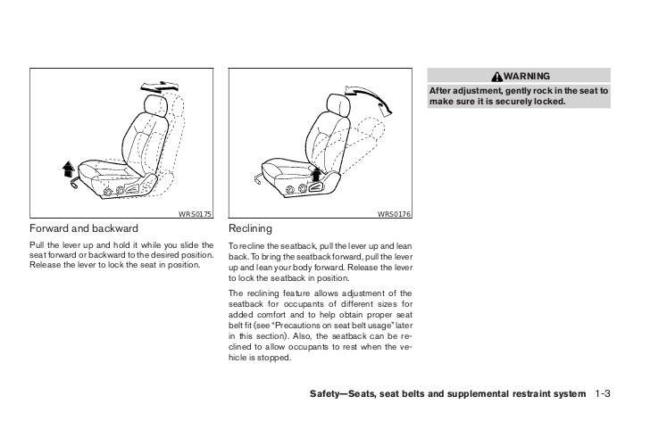 2005 pathfinder owner s manual rh slideshare net 2005 nissan pathfinder repair manual pdf 2005 nissan pathfinder service manual pdf