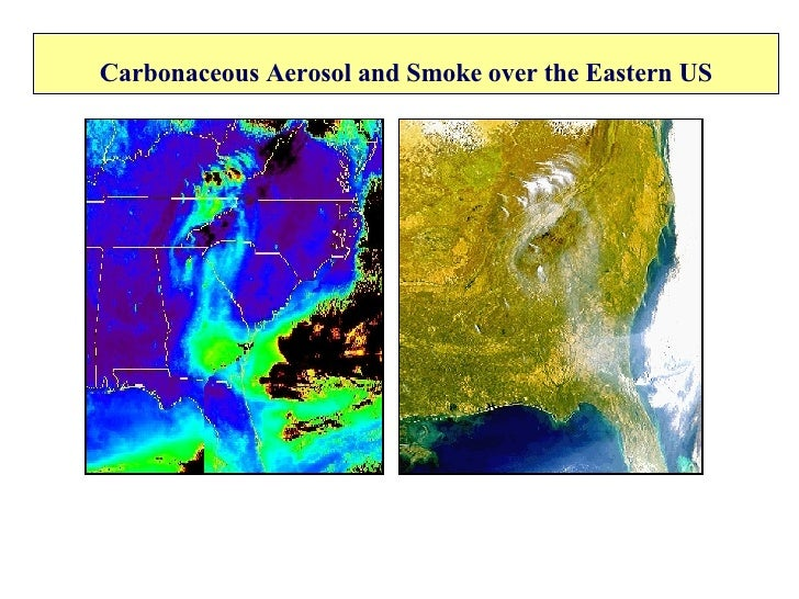 Carbonaceous Aerosol and Smoke over the Eastern US