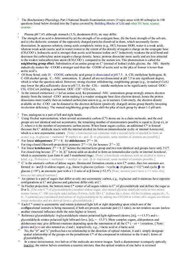 MCAT Biochemistry Review Summary | Gold Standard MCAT Prep