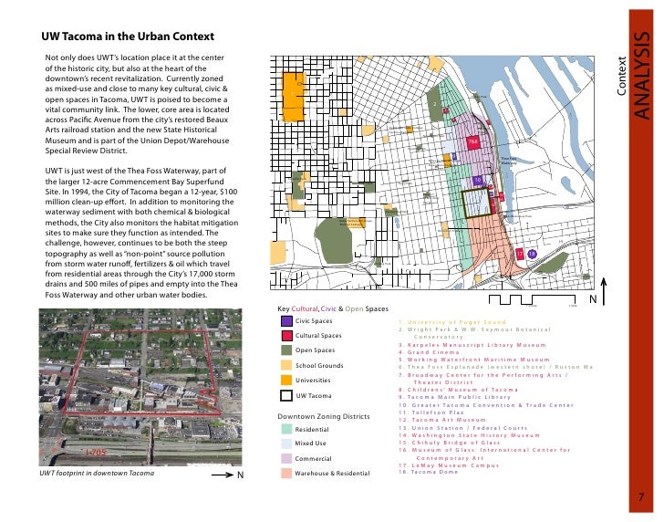 Report - Green Infrastructure Frameworks for the UW Tacoma Campus