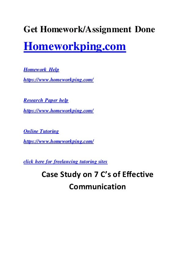 case study barriers of communication essay Free communication papers, essays with respect to this particular case study two key communication for effective communication - barriers to effective communication ways of overcoming communication barriers sensory deprivation this is when someone is deprived of.